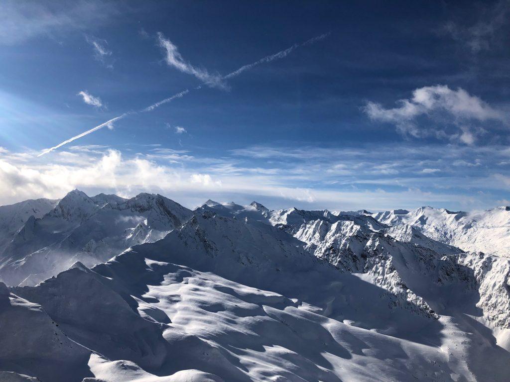 Austrian Alps Mountain View